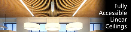 slatted timber ceiling tiles