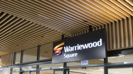 Aluclick at Warriewood Square Shopping Centre