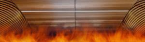 Behaviour of fire in timber linings with gaps and spaces