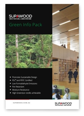 Supawood Green Info Pack