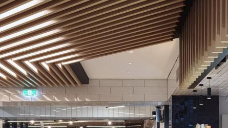 Wave Blades Ceiling Systems Supplier | Supawood