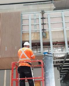Work in progress at Northern Beaches Hospital