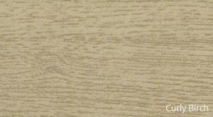 SUPAMETAL Woodgrain Curly Birch