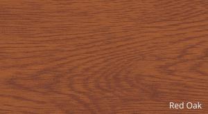 SUPAMETAL Woodgrain Red Oak