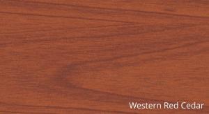 SUPAMETAL Woodgrain Western Red Cedar