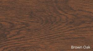SUPAMETAL Woodgrain Brown Oak