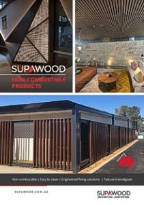 SUPAWOOD Non-combustible Products brochure