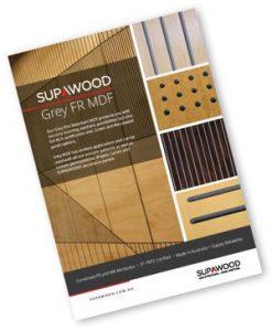 SUPAWOOD Grey MDF FR flyer